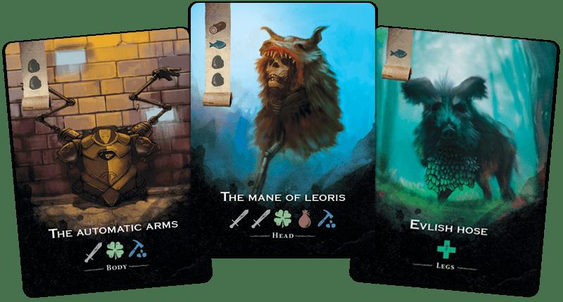 Equipment cards
